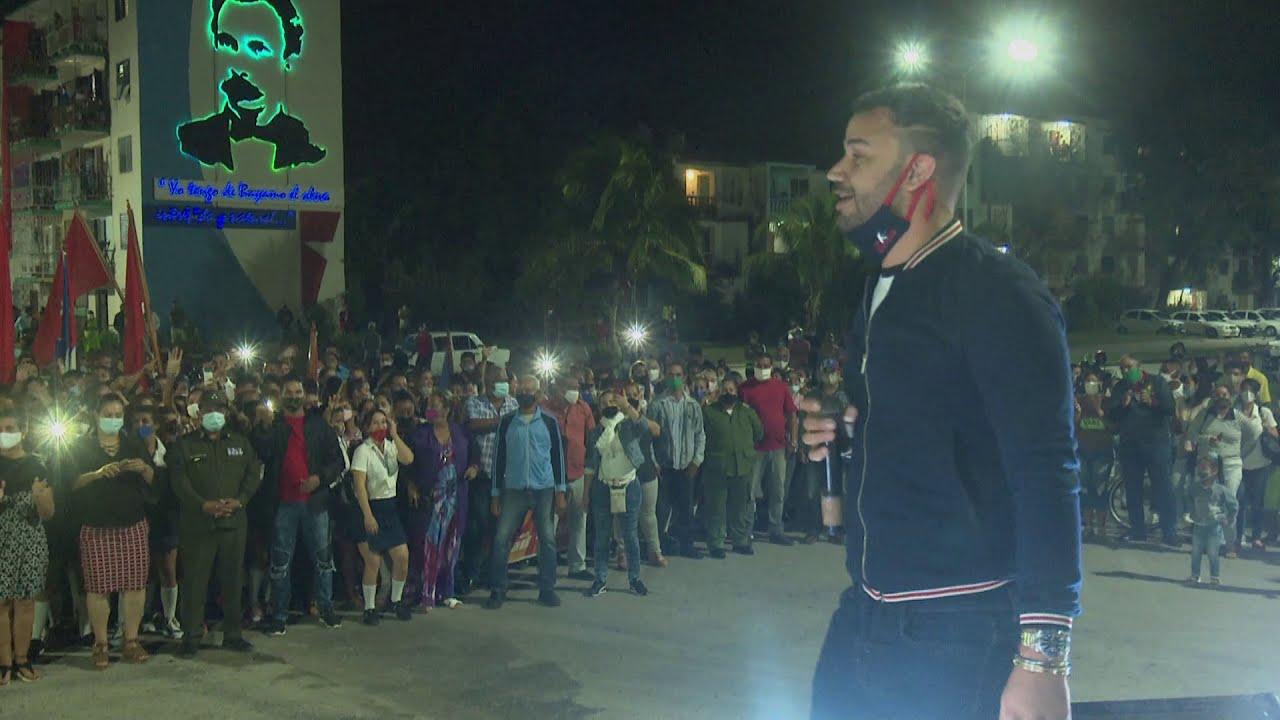 Jóvenes bayameses se pronuncian a favor de la Revolución cubana