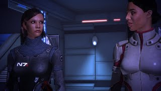 Mass Effect - Citadel Scenic View with Modded FemShep and Ashley Romance