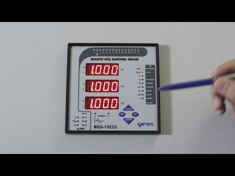 RG3-15 CLS Power Factor Controller Front Panel