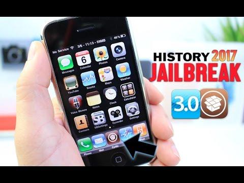Original iPhone iOS 3 Jailbreak Tweaks in 2017 (Jailbreak History)