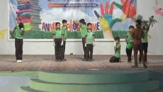 Euro Global Academy Annual Function-  Save Trees  Mime