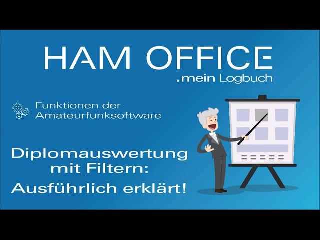 Youtube-Startbild zu HAM OFFICE Funktionen: Diplomauswertung mit Filtern - Ausführlich erklärt!