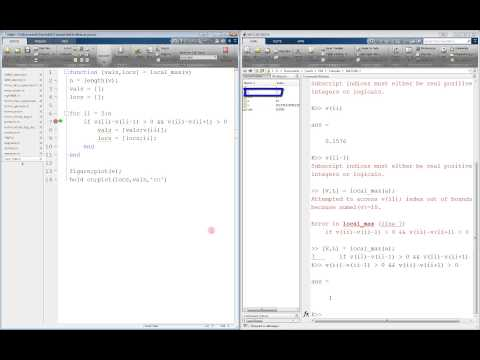 MATLAB Debugging Tutorial