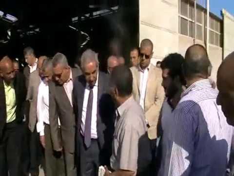 الوزير/طارق قابيل يقوم بجولة للروبيكى ويعقد اجتماع موسع مع أصحاب المدابغ 1 يونيو 2017