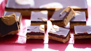 No-Bake Chocolate Peanut Butter Bars- Everyday Food With Sarah Carey