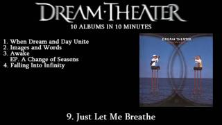 Dream Theater: 10 Albums in 10 Minutes