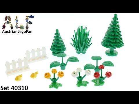 Vidéo LEGO Objets divers 40310 : LEGO Xtra - Accessoires sur le thème de la botanique