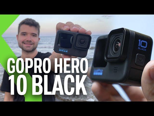 GOPRO Hero 10 BLACK, ANÁLISIS | ¡TAN POTENTE QUE QUEMA!