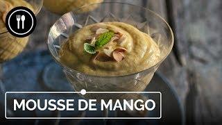 Mousse de Mango, un postre fácil y refrescante para el verano