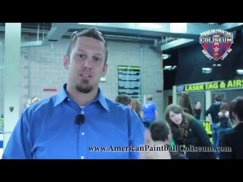 American Paintball Coliseum - Come Play Laser Tag!