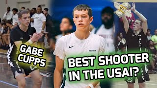 The 15 Year Old That Challenged LeBron! Gabe Cupps Is The Young Steph Curry!  🤑