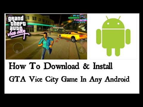 Gta Vice City Mobile Game Apk Download Free – smelophemex
