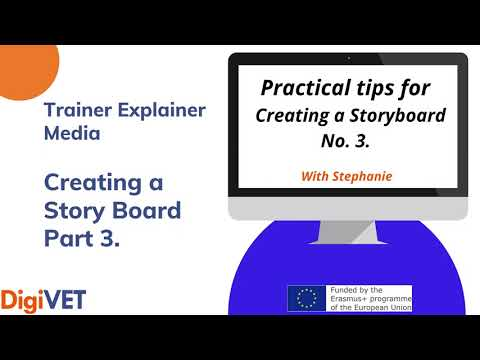 Trainer Explainer Creating Story Board – Part 3
