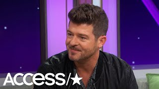 Robin Thicke On The Passing Of His Dad, Alan Thicke: