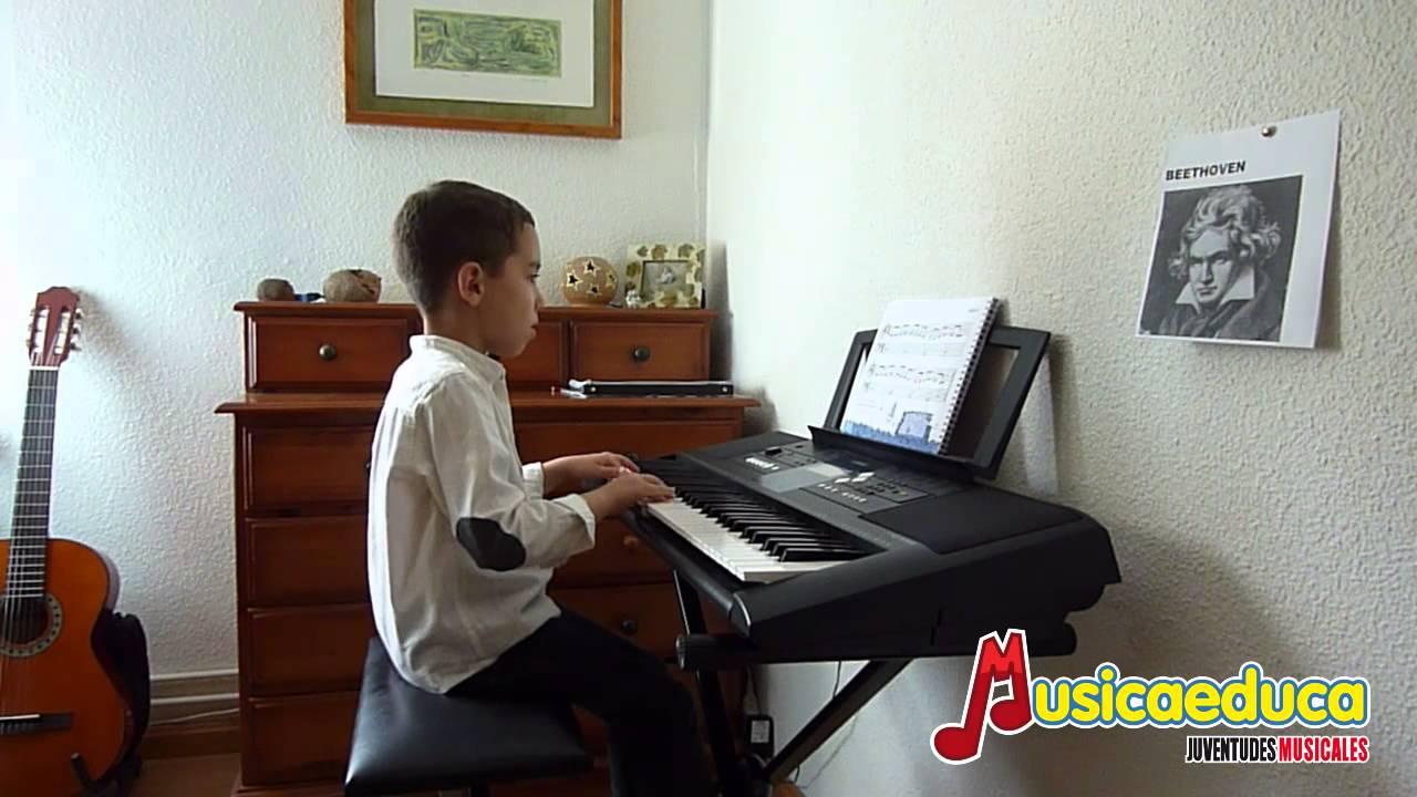 Himno de la alegria - Mi Teclado 1 - Musicaeduca Juventudes Musicales de Alcalá