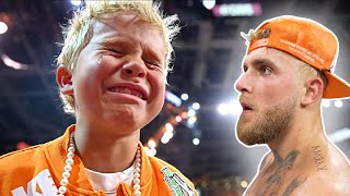 Someone made Tydus CRY at the Jake Paul FIGHT..