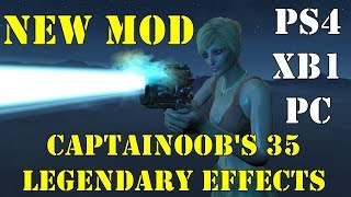 Fallout 4: New Mod - 35 Standalone Legendary Effects (PS4, PC, Xbox 1)