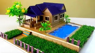 How To Make A Beautiful Mansion From Cardboard #33 - Dream House | Crafts Ideas