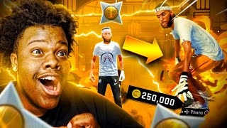i hit ALL STAR 1 ON NBA 2K21 and UNLOCKED A HOVERBOARD THAT TELEPORTS AROUND 2K BEACH! (MUST WATCH)