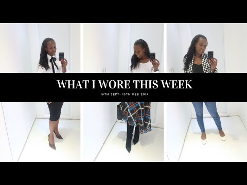WHAT I WORE THIS WEEK #26 | SIMPLE ELEGANT CHIC| Nelly Mwangi