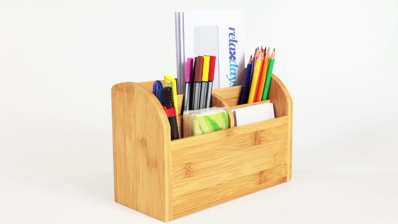 Video von: Schreibtisch-Organizer Bambus