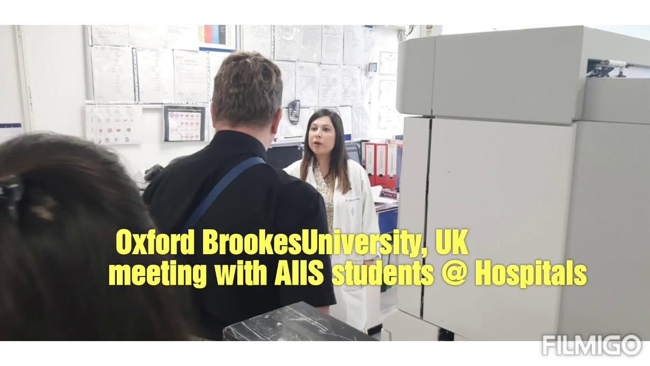 AIIS Hospital Meet