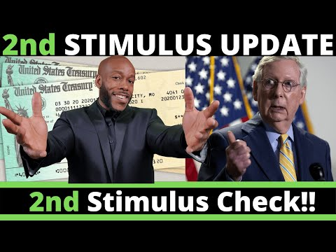 FINALLY!!  Second Stimulus Check Update TODAY $1,200 + Unemployment Benefits [Heals Act]