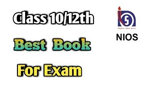 NIOS Class 10/12th Best Book For Exam | study material | exam mein kis book se Pade - Download this Video in MP3, M4A, WEBM, MP4, 3GP