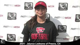 2021 Jalyssa Ledesma Third Base & Middle Infield Softball Skills Video - Batbusters 18 GOLD - Gomes