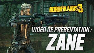 Borderlands 3 : Vidéo de Présentation - Zane