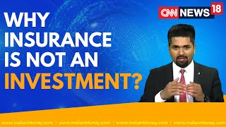 Insurance vs Investment - Why Insurance is Not an Investment | Money Doctor Show | EP : 265
