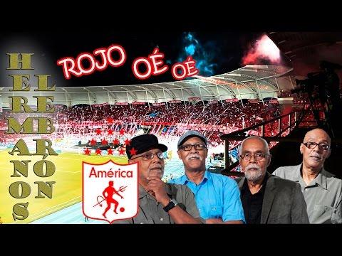 """""""Rojo Oé Oé - Hermanos Lebrón - América de Cali"""" Barra: Baron Rojo Sur • Club: América de Cáli"""