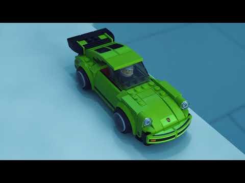 Vidéo LEGO Speed Champions 75888 : Porsche 911 RSR et 911 Turbo 3.0