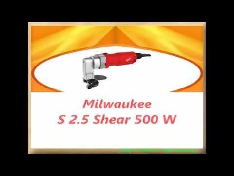 S2.5Q  Milwaukee Plate Shear