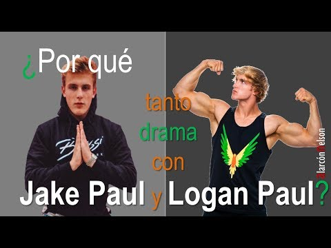 ¿Por qué tanto drama con Jake Paul y Logan Paul?