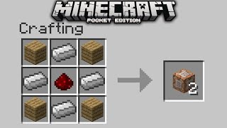 NEW CRAFTING RECIPES in Minecraft PE!! Custom Crafting Recipes Command Block Creation