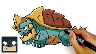 Drednaw  - (Pokémon) - How To Draw Drednaw | Pokemon Sword and Shield