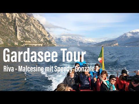 """Gardasee im Spätherbst: von Riva über Limone nach Malcesine  mit der """"Speedy Gonzale 2"""""""