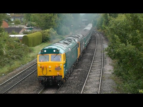 Double headed 50's power through Cheltenham on 'The Torbay a…