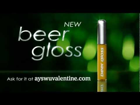 Beer Flavored Lip Gloss?