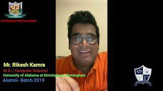 Alumni Testimonials   Department of Information Technology    A. P. Shah Institute of Technology