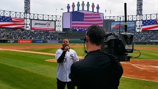 RJ Griffith - Chicago White Sox National Anthem Performance 4.6.19