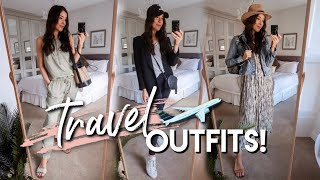 CUTE & COMFY AIRPORT OUTFIT Inspo + Not-So-Obvious SUMMER 2019 TRAVEL ESSENTIALS!