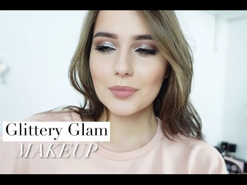 ВЕЧЕРНИЙ МАКИЯЖ // Серебряная Подводка // Gliterry Glam Makeup
