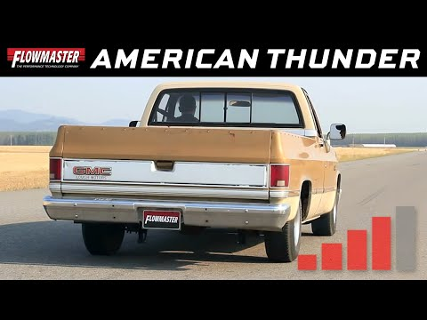 1973-74 GM C10/C20 - Flowmaster American Thunder Exhaust System 17742