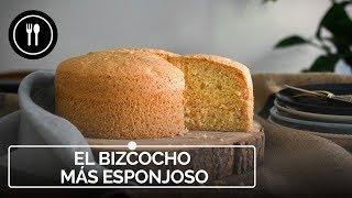 EL BIZCOCHO MÁS ESPONJOSO DEL MUNDO con solo 3 INGREDIENTES | Directo al Paladar