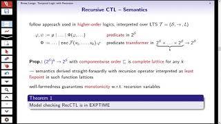 Recursive Temporal Logic. By Martin Lange