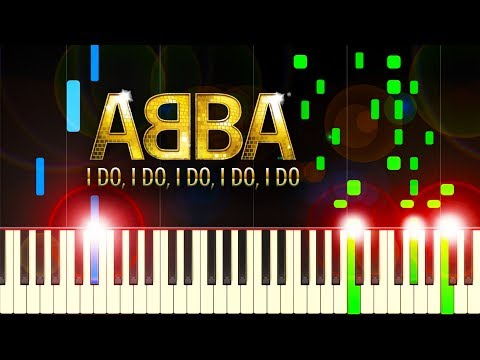 ABBA - I Do, I Do, I Do, I Do, I Do - Piano Tutorial