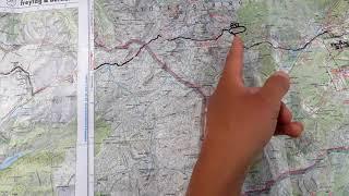 Live-Video: Spontan die Route über den Haufen geworfen