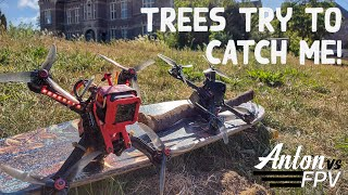 Come tree try to catch me ???????????? | FPV Freestyle